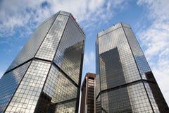 Modern skyscrapers KeyBank in Denver. Stock Photo