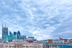 Modern skyscrapers in London, UK Stock Image