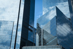 Modern skyscrapers in New York City Royalty Free Stock Photography