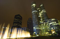 Modern skyscrapers in Paris Stock Image
