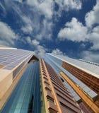 Modern skyscrapers, Sheikh zayed road, Dubai, UAE Royalty Free Stock Photography