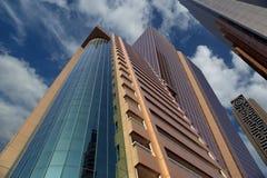 Modern skyscrapers, Sheikh zayed road, Dubai, UAE Royalty Free Stock Image