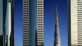 Modern skyscrapers, Sheikh zayed road, Dubai Stock Image