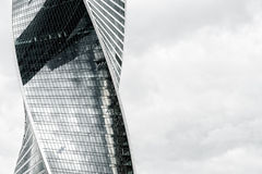 Modern skyscrapers of steel and glass Royalty Free Stock Photo
