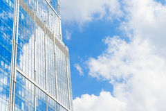 Modern skyscrapers of steel and glass Royalty Free Stock Image