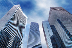 Modern skyscrapers Stock Photography