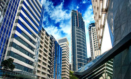 Modern Skyscrapers of Sydney Royalty Free Stock Photos