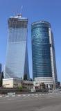Modern Skyscrapers in Tel Aviv, Israel Royalty Free Stock Photo