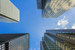 Modern Skyscrapers Royalty Free Stock Photo