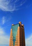 Modern skyskrapabyggnad Royaltyfri Fotografi