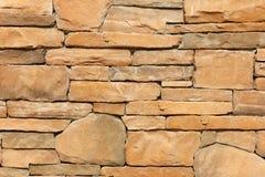 Modern slab ,slat stone wall Royalty Free Stock Image