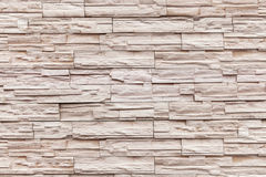 Modern slate wall for pattern and background Stock Image