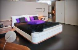 Modern sleeping room Royalty Free Stock Photo