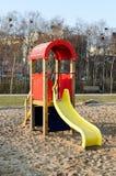 Modern slide in park Stock Image