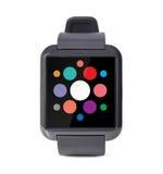 Modern slim horloge Royalty-vrije Stock Afbeeldingen