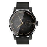 Modern slim horloge Stock Foto