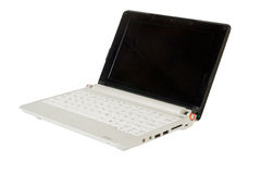 Modern small laptop Stock Photography