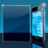 Modern Smart Phone Stock Photo