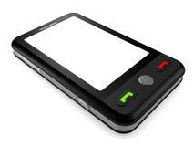 Modern smart phone for mobile communication Stock Photos