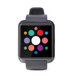 Modern smart watch Royalty Free Stock Images