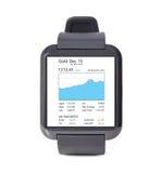 Modern smart watch Stock Photography