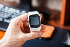 Modern Smart Watch Royalty Free Stock Image