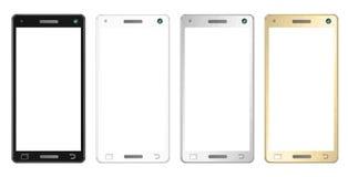 modern smartphone Royaltyfria Foton