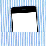 Modern smartphone in the pocket Stock Photos