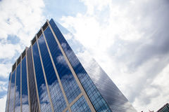 Modern smoked glass office building Royalty Free Stock Image