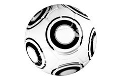 Modern soccer game ball Royalty Free Stock Photography
