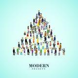 Modern society concept Stock Photography