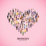 Modern society concept Royalty Free Stock Photo