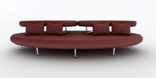 Modern sofa Royalty Free Stock Images