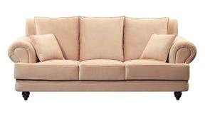 modern sofa royaltyfri fotografi