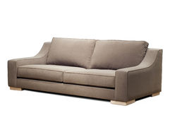 Modern sofa (clipping path ) Stock Photo