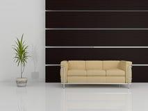 Modern sofa 3D Stock Photo