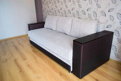 Modern sofa in an interior room view Stock Image