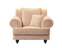 Modern sofa. Isolated on white background Stock Photo
