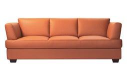 Modern sofa. Isolated on white background Stock Images