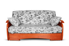 Modern sofa with pillow Royalty Free Stock Image