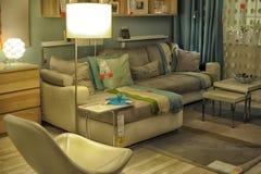 Modern sofas Stock Images