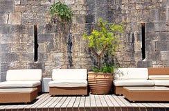 Modern sofas. View of a free modern sofas Stock Photo