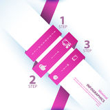 Modern soft color Design template , can be used for infographics Stock Photo