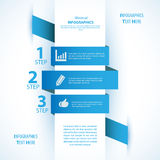 Modern soft color Design template / can be used for infographics. Modern Design template, can be used for infographics. Vector illustration for your business Stock Photography