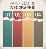 Modern soft color Design template / infographics. Modern soft color Design template / for infographics / numbered banners / horizontal cutout lines / graphic or Royalty Free Stock Photography