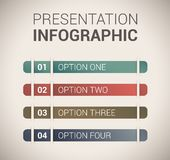 Modern soft color Design template / infographics Royalty Free Stock Image