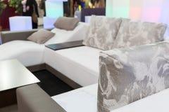 Modern soft furniture Stock Photos