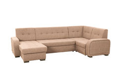 Modern soft sofa Royalty Free Stock Image