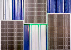 Modern solar cell Royalty Free Stock Images