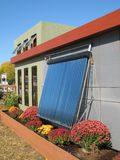 Modern Solar Home Royalty Free Stock Photos